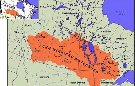 Winnipeg On Map Of Canada.Testing Bmps In The Canadian Prairies Certified Crop Adviser